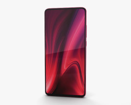 3D model of Xiaomi Redmi K20 Pro Flame Red