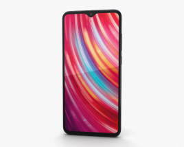 Xiaomi Redmi Note 8 Pro Black 3D model
