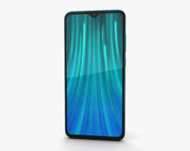 3D model of Xiaomi Redmi Note 8 Pro Green