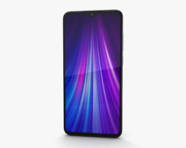 3D model of Xiaomi Redmi Note 8 Pro White