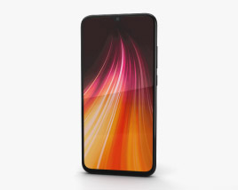 3D model of Xiaomi Redmi Note 8 Space Black