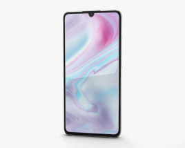 3D model of Xiaomi Mi Note 10 Glacier White