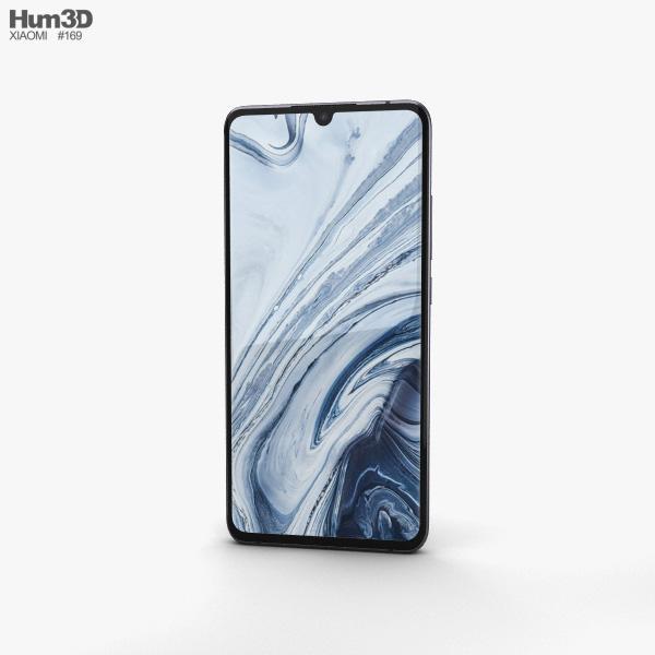 Xiaomi Mi Note 10 Midnight Black 3D model