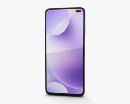 3D model of Xiaomi Redmi K30 Purple