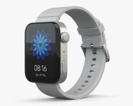 3D model of Xiaomi Mi Watch Silver