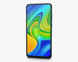 Xiaomi Redmi Note 9 Forest Green 3D model