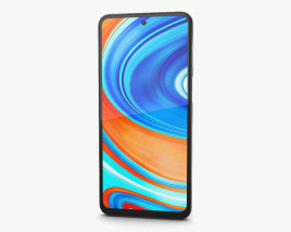 3D model of Xiaomi Redmi Note 9 Pro Glacier White