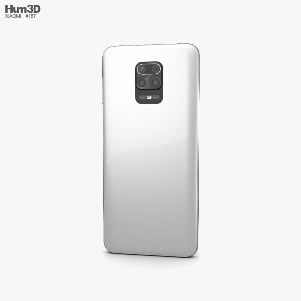 Xiaomi Redmi Note 9 Pro Glacier White 3d model