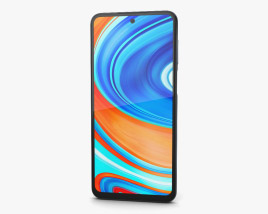 3D model of Xiaomi Redmi Note 9 Pro Interstellar Gray