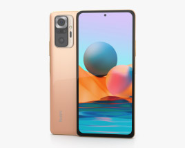 Xiaomi Redmi Note 10 Pro Gradient Bronze 3D model