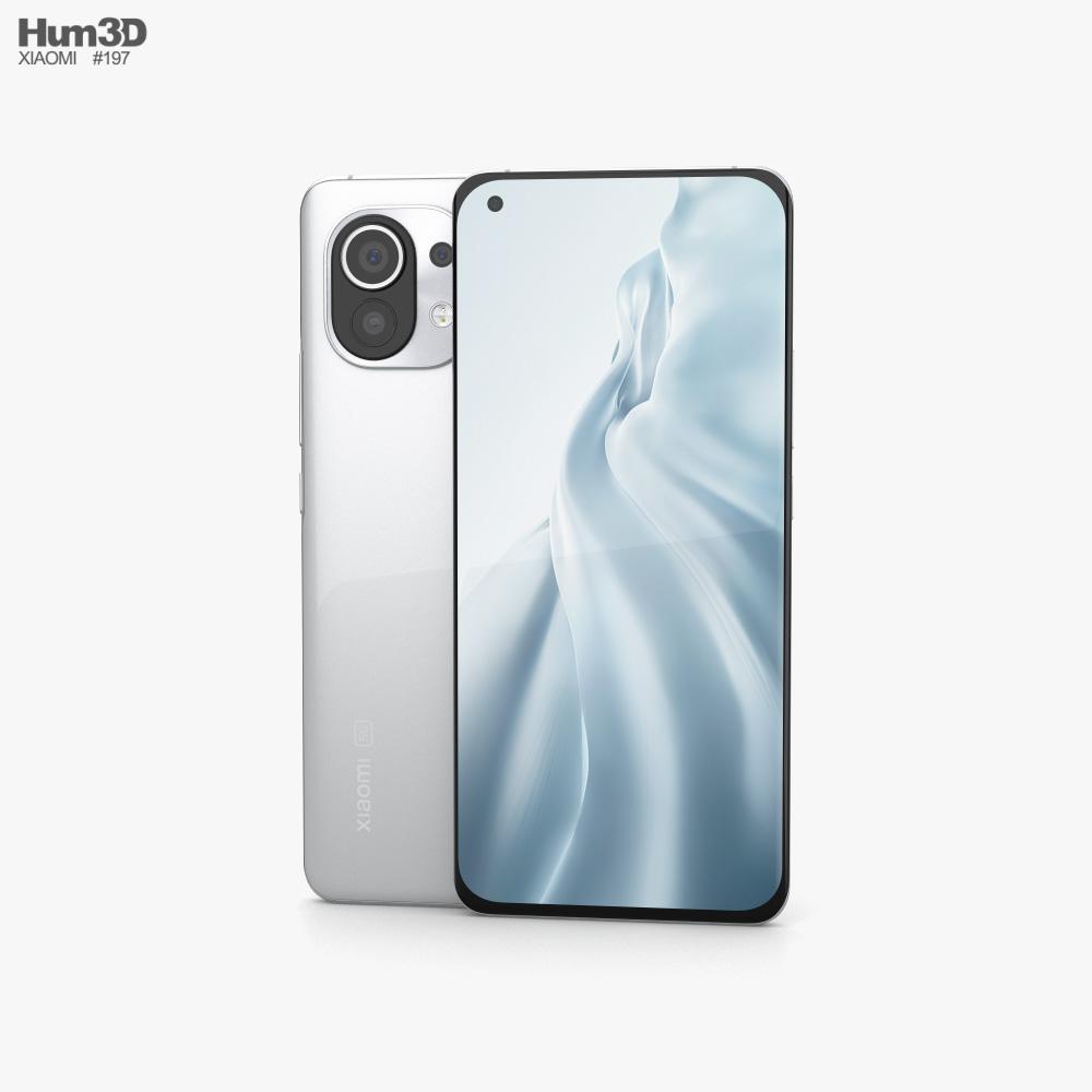 Xiaomi Mi 11 Cloud White 3D model