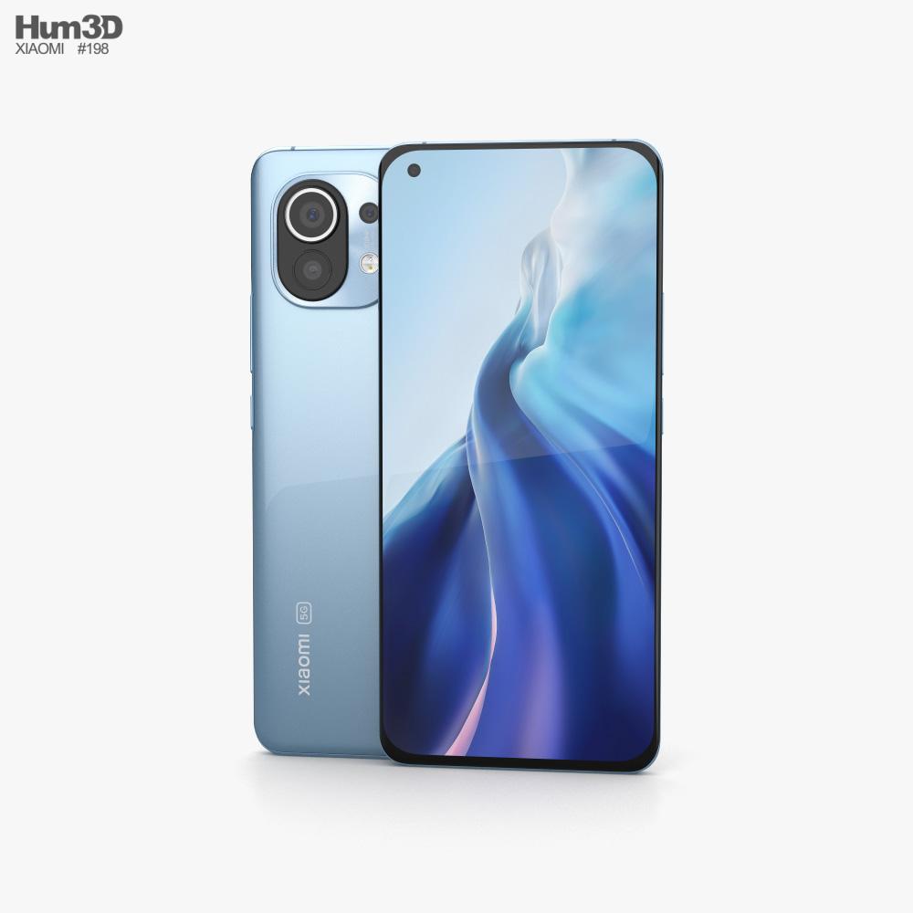 Xiaomi Mi 11 Horizon Blue 3D model