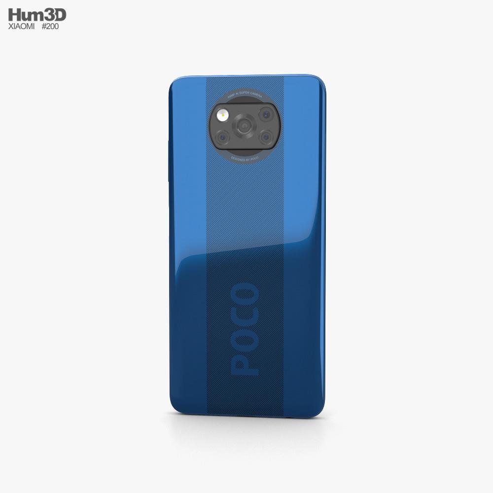 Xiaomi Poco X3 Cobalt Blue 3d model