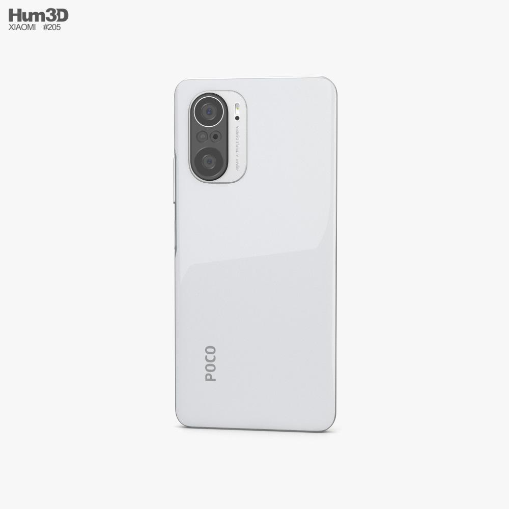 Xiaomi Poco F3 Arctic White 3d model
