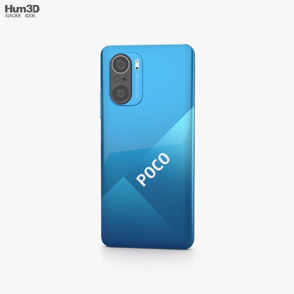 Xiaomi Poco F3 Deep Ocean Blue 3d model