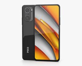 Xiaomi Poco F3 Night Black 3D model