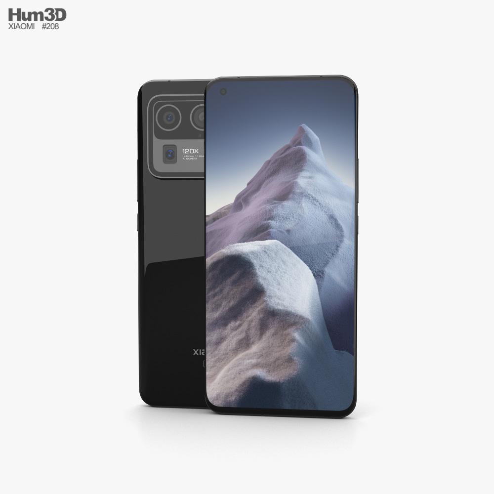 Xiaomi Mi 11 Ultra Ceramic Black Modelo 3D