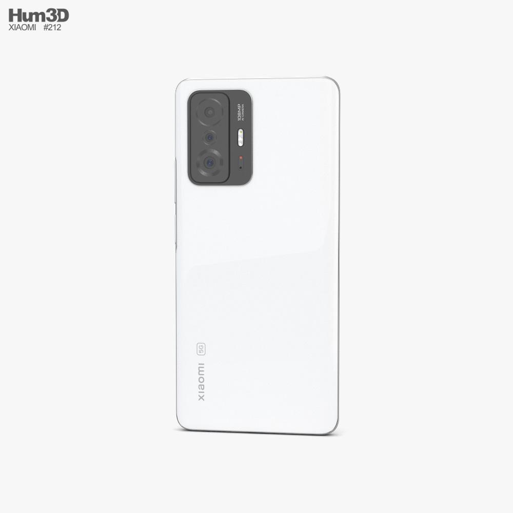 Xiaomi 11T Pro Moonlight White 3d model