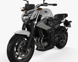 3D model of Yamaha XJ6 2009