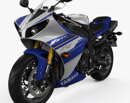 3D model of Yamaha R1 2014