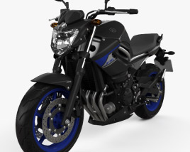 3D model of Yamaha XJ6 2014