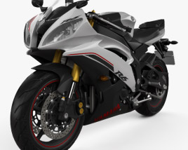 3D model of Yamaha YZF-R6 2014