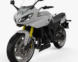 3D model of Yamaha FZ8 2013