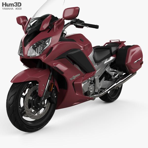 Yamaha FJR1300 ES 2013 3D model