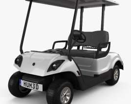 3D model of Yamaha Golf Car Fleet 2012