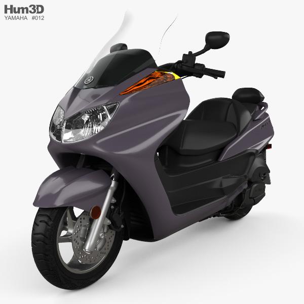 Yamaha Majesty 2013 3D model