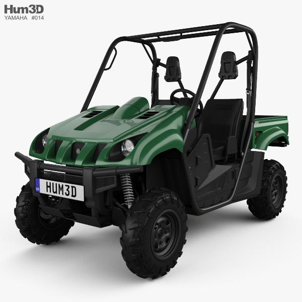 Yamaha Rhino 700 2013 3D model