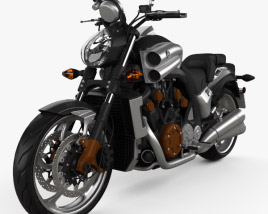 3D model of Yamaha VMax 2009