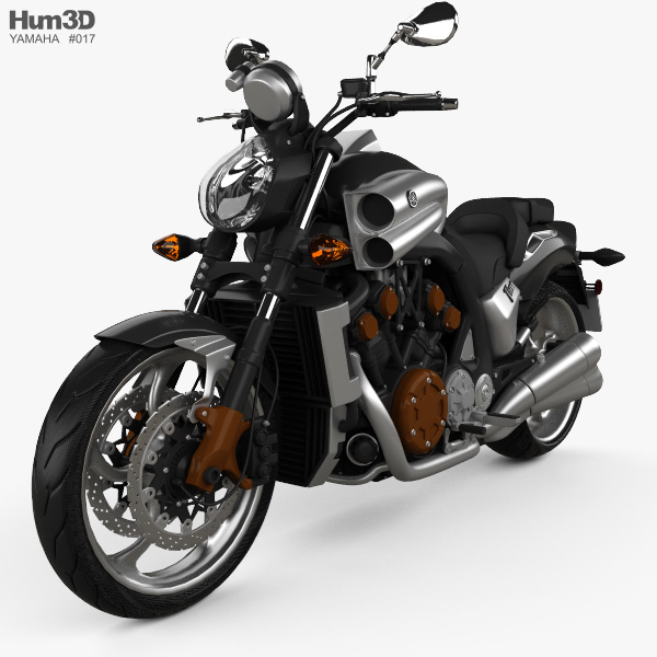 Yamaha VMax 2009 3D model