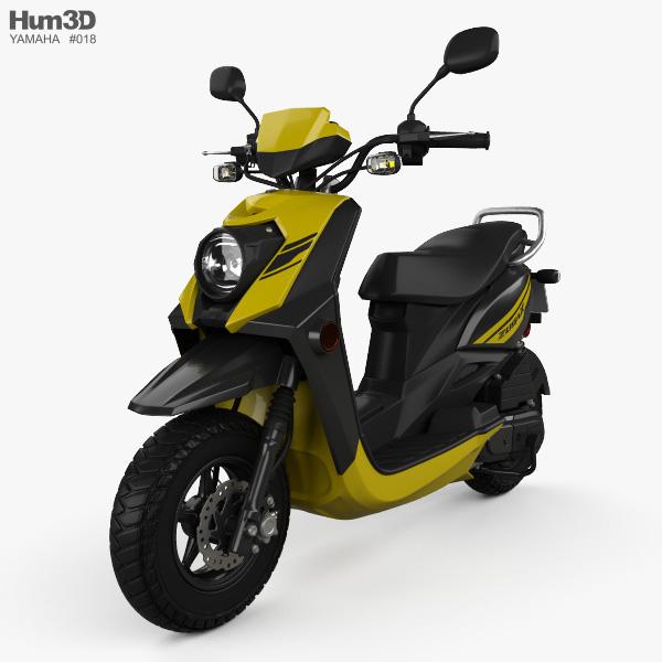 Yamaha Zuma 50 FX 2013 3D model