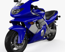3D model of Yamaha YZF600R Thundercat 1994