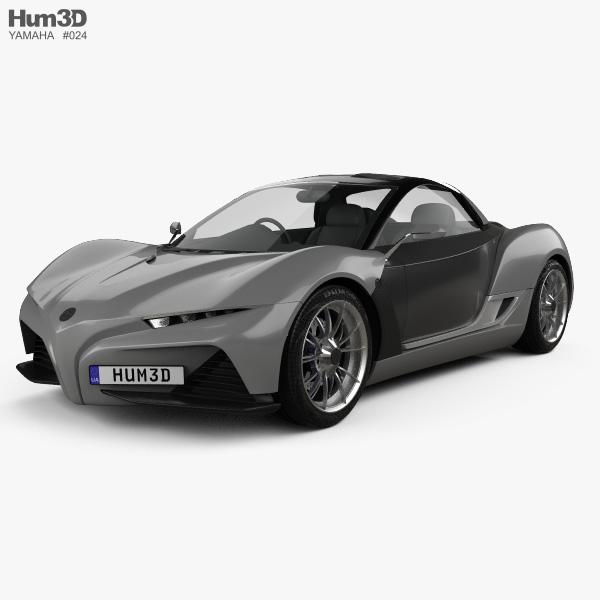 3D model of Yamaha Sports Ride 2015