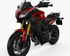 3D model of Yamaha FJ-09 Tracer 2015