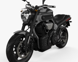 3D model of Yamaha MT-01 2009