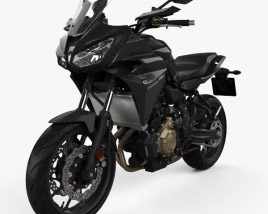 3D model of Yamaha MT-07 Tracer 2016