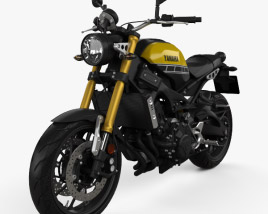 3D model of Yamaha XSR900 2016