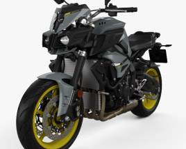 3D model of Yamaha MT-10 2016