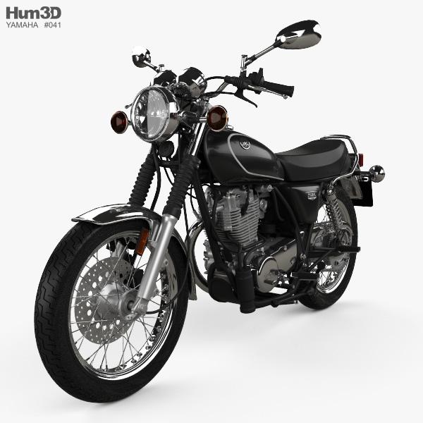Yamaha SR400 2015 3D model