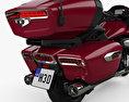Yamaha Star Venture 2018 3d model