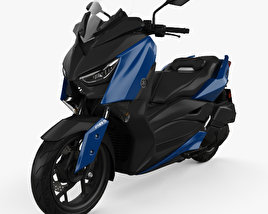 3D model of Yamaha X-MAX 300 2018