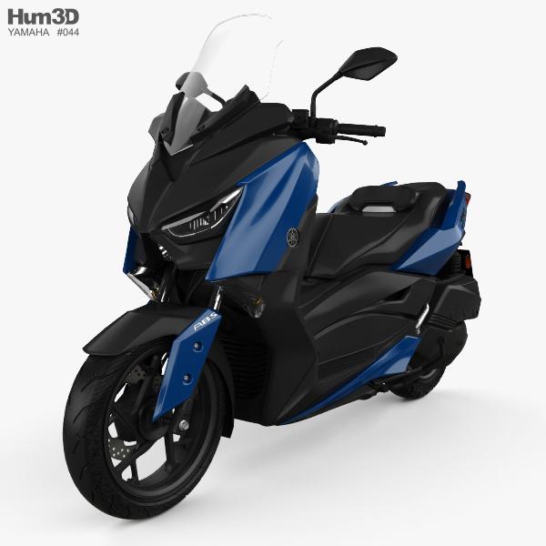 Yamaha X-MAX 300 2018 3D model