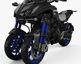 3D model of Yamaha Niken 2018