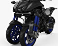 Yamaha Niken 2018 3d model
