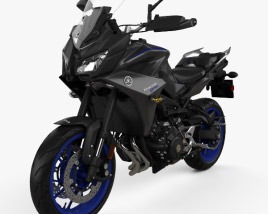 3D model of Yamaha MT-09 Tracer 2018