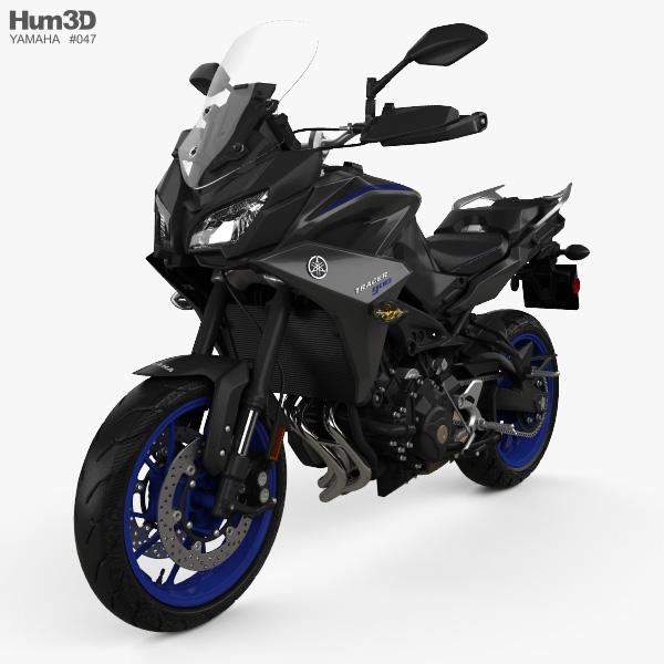 Yamaha MT-09 Tracer 2018 3D model