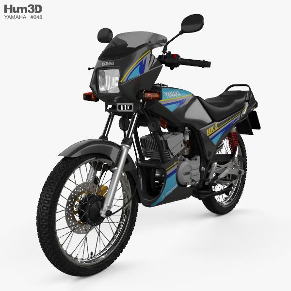 Yamaha RXZ-135 1997 3D model
